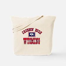 Jackson Hole WY Tote Bag