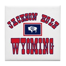 Jackson Hole WY Tile Coaster