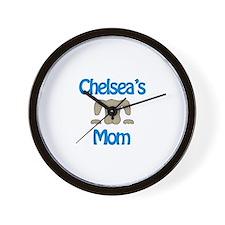 Chelsea's Mom Wall Clock