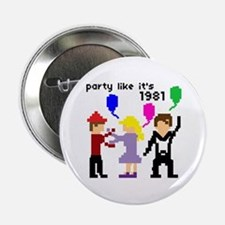 party like it's 1981 - Button