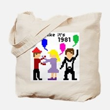 party like it's 1981 - Tote Bag