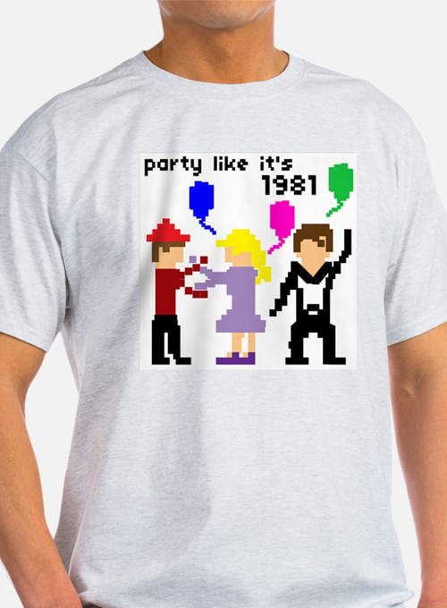 party like it's 1981 - Ash Grey T-Shirt