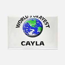 World's Okayest Cayla Magnets