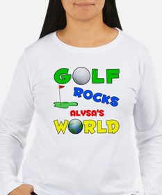 Golf Rocks Alysa's World - T-Shirt