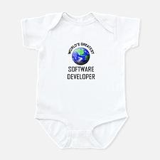 World's Greatest SOFTWARE DEVELOPER Infant Bodysui