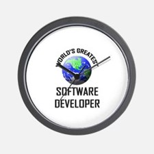 World's Greatest SOFTWARE DEVELOPER Wall Clock