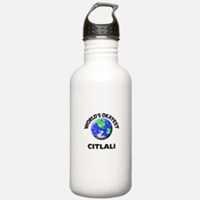 World's Okayest Citlal Sports Water Bottle