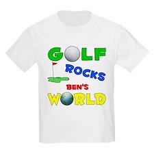 Golf Rocks Ben's World - T-Shirt