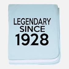 Legendary Since 1928 baby blanket