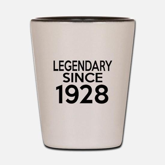Legendary Since 1928 Shot Glass