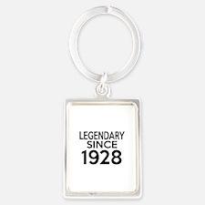 Legendary Since 1928 Portrait Keychain