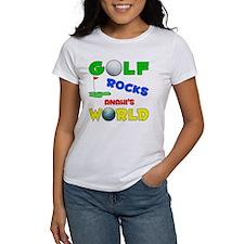 Golf Rocks Anahi's World - Tee