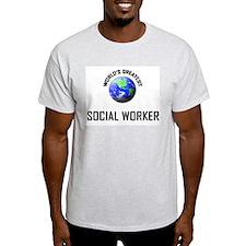 World's Greatest SOCIAL WORKER T-Shirt