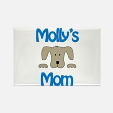 Molly's Mom Rectangle Magnet