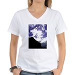 Fresco Skies Women's V-Neck T-Shirt