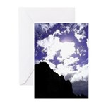 Fresco Skies Greeting Cards (Pk of 10)