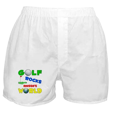 Golf Rocks Anissa's World - Boxer Shorts