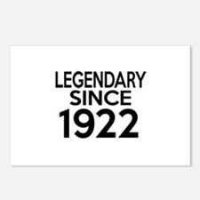 Legendary Since 1922 Postcards (Package of 8)