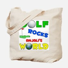 Golf Rocks Anjali's World - Tote Bag