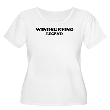 WINDSURFING Legend Women's Plus Size Scoop Neck T-
