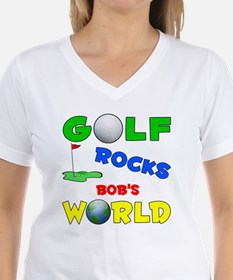 Golf Rocks Bob's World - Shirt
