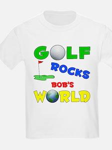 Golf Rocks Bob's World - T-Shirt