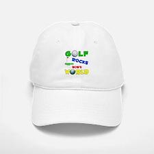 Golf Rocks Bob's World - Baseball Baseball Cap