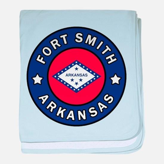 Fort Smith Arkansas baby blanket