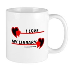 I love My Library Mug