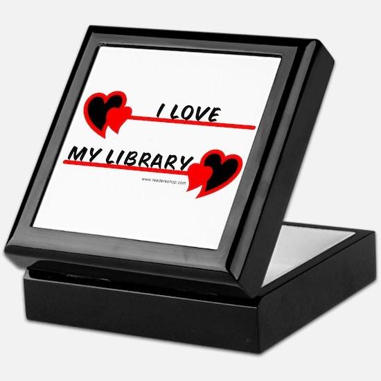 I love My Library Keepsake Box