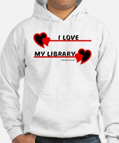 I love My Library Hoodie