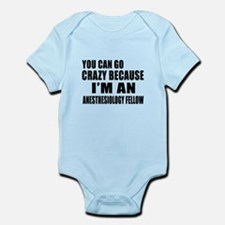 I Am Anesthesiology fellow Infant Bodysuit