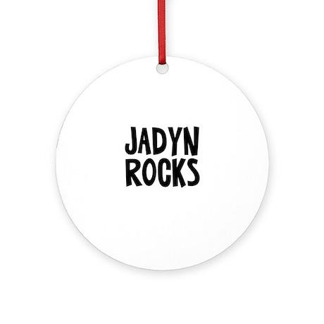 Jadyn Rocks Ornament (Round)