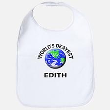 World's Okayest Edith Bib