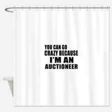 I Am Auctioneer Shower Curtain