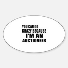I Am Auctioneer Decal