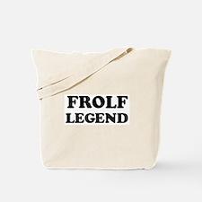 FROLF Legend Tote Bag