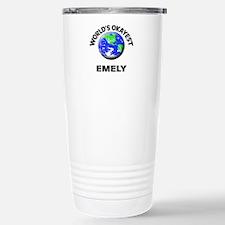 World's Okayest Emely Travel Mug