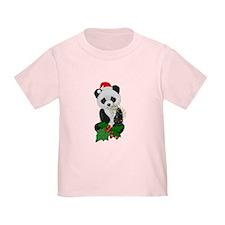 Christmas Panda T