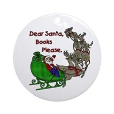 Dear Santa - Kids Printing Ornament (Round)
