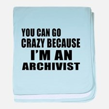 I Am Archivist baby blanket