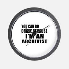 I Am Archivist Wall Clock