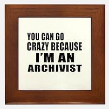 I Am Archivist Framed Tile