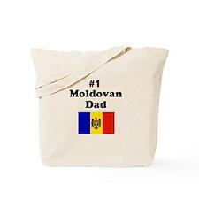 #1 Moldovan Dad Tote Bag