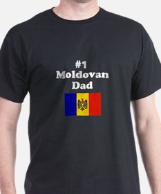 #1 Moldovan Dad T-Shirt