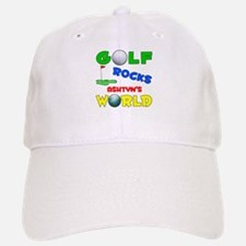 Golf Rocks Ashtyn's World - Baseball Baseball Cap