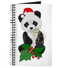 Christmas Panda Journal