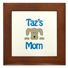 Taz's Mom Framed Tile