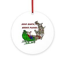 Dear Santa - Adult Printing Ornament (Round)