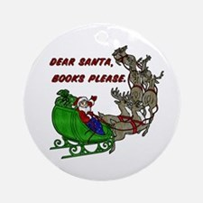 Dear Santa - Adult Printing Ornament (Round)